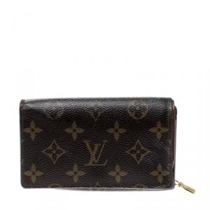 Louis Vuitton Monogram Canvas Tresor Wallet