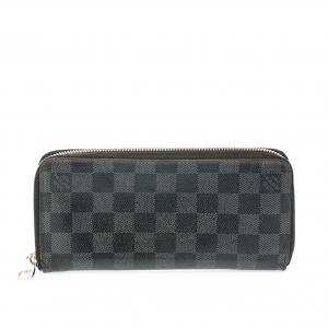 Louis Vuitton Damier Graphite Canvas Vertical Zippy Wallet