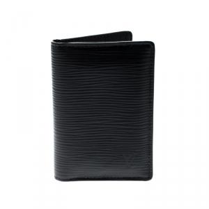Louis Vuitton Black Epi Leather Pocket Organizer