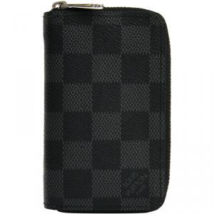 Louis Vuitton Damier Graphite Canvas Vertical Zippy Coin Purse