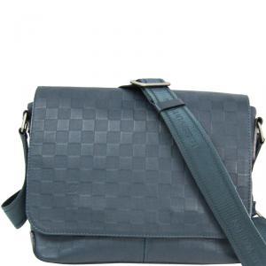 Louis Vuitton Damier Infini Leather District PM Bag