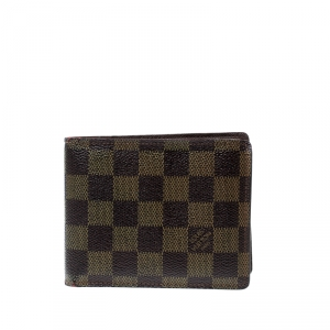 Louis Vuitton Damier Ebene Canvas Florin Wallet