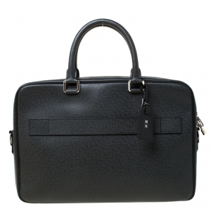 Louis Vuitton Black Epi Leather Documents Voyage Bag