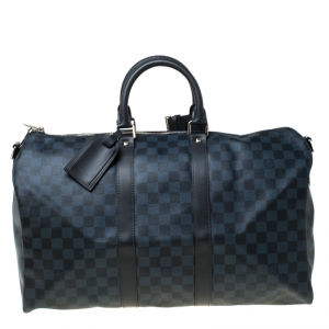 Louis Vuitton Damier Graphite Canvas Keepall Bandouliere 45