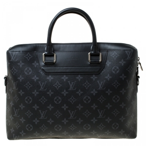 Louis Vuitton Eclipse Monogram Canvas Briefcase