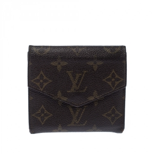 Louis Vuitton Monogram Canvas Vintage Flap Compact Wallet