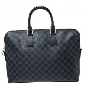 Louis Vuitton Damier Graphite Canvas Porte Documents Jour Messenger Bag