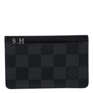 Louis Vuitton Damier Graphite Canvas Neo Porte Cardholder