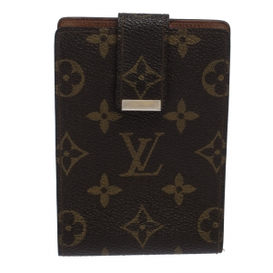 Louis Vuitton Monogram Canvas Money Clip Wallet