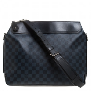 Louis Vuitton Damier Cobalt Canvas Greenwich Messenger Bag