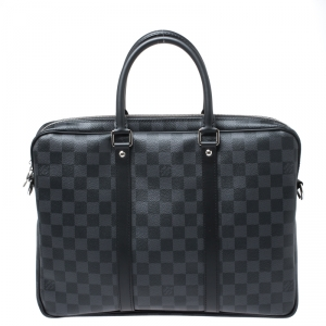 Louis Vuitton Damier Graphite Canvas Porte Documents Voyage PM Bag