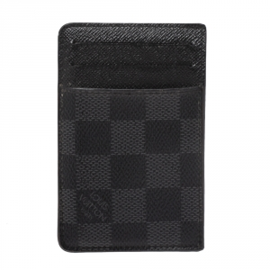 Louis Vuitton Damier Graphite Canvas Card Holder
