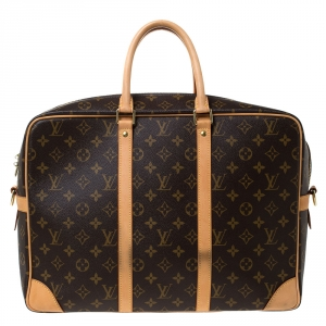 Louis Vuitton Monogram Canvas Porte-Documents Voyage Suitcase