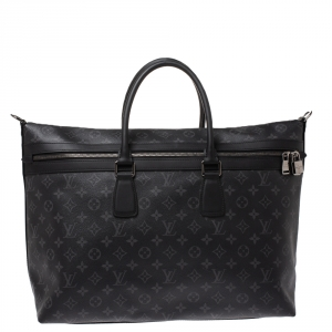 Louis Vuitton Monogram Coated Canvas Eclipse Apollo All Day Carry On Bag