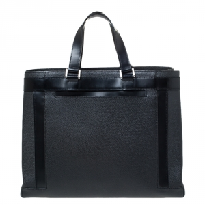 Louis Vuitton Black Taiga Leather Kasbek PM Bag