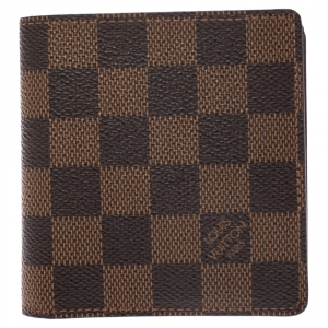 Louis Vuitton Brown Damier Canvas Bifold Wallet