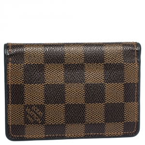 Louis Vuitton Damier Ebene Canvas Pocket Organizer