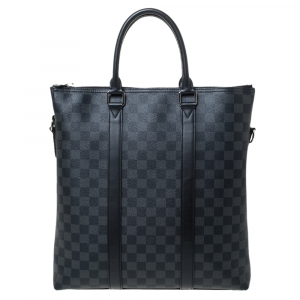 Louis Vuitton Damier Graphite Canvas Anton Bag