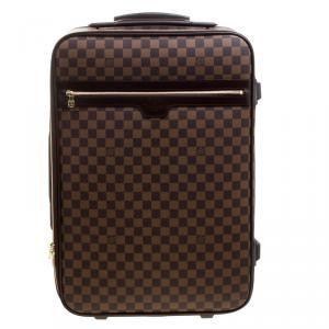 Louis Vuitton Damier Ebene Canvas Pegase 55 Luggage