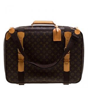 Louis Vuitton Monogram Canvas Satellite 53 Suitcase