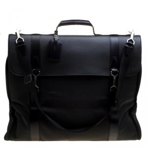 Louis Vuitton Green Taiga Leather and Nylon Garment Bag