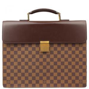 Louis Vuitton Damier Ebene Canvas Altona Briefcase GM