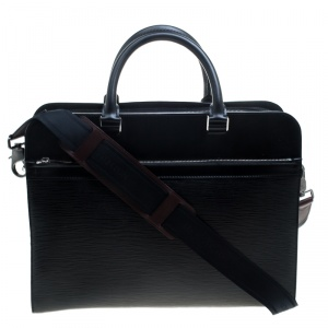 Louis Vuitton Epi Leather Bassano GM Briefcase
