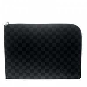Louis Vuitton Damier Graphite Canvas Poche Documents Portfolio Case