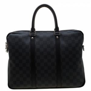Louis Vuitton Damier Graphite Canvas Porte Documents Voyage PM Bag