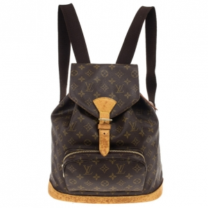 Louis Vuitton Monogram Canvas Montsouris Backpack GM