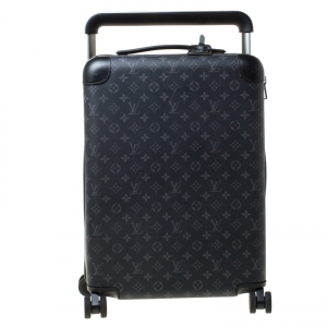 Louis Vuitton Monogram Eclipse Horizon 55 Suitcase