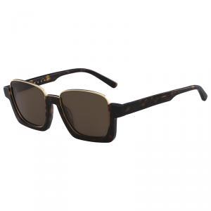 Marni Tortoise ME613S Square Sunglasses