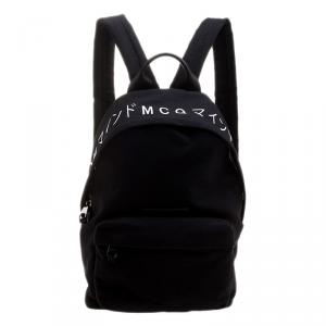 McQ By Alexander McQueen Black Canvas Backpack