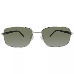 Mont Blanc Silver MB503T Square Sunglasses
