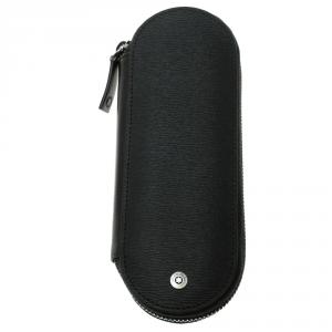 Montblanc Black Leather 4810 Westside Pen Pouch