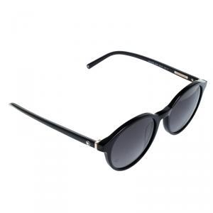 Montblanc Black MB505S Round Sunglasses
