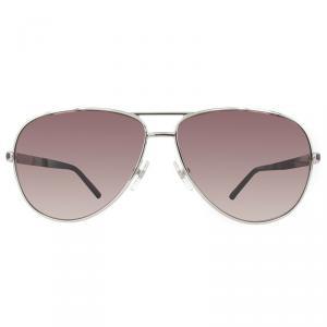 Mont Blanc Shiny Rose Gold/Gradient Smoke MB521S Aviator Sunglasses