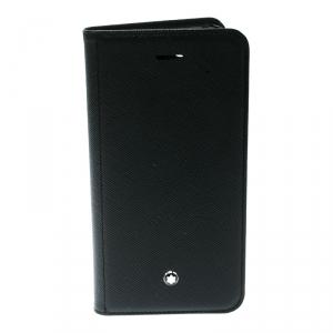 Montblanc Black Leather Flipside iPhone 8 Case