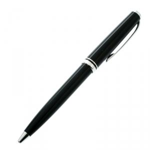 Montblanc Black Resin Platinum Finish Ballpoint Pen