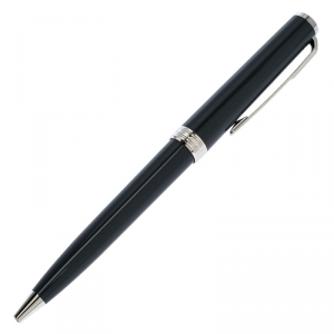 Montblanc Grey Resin Platinum Finish Ballpoint Pen