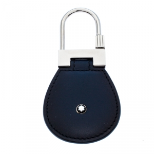 Montblanc Navy Blue Leather Meisterstück Key Fob
