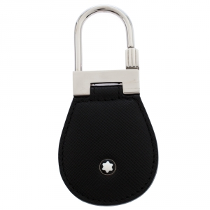 Montblanc Black Leather Meisterstuck Key Fob