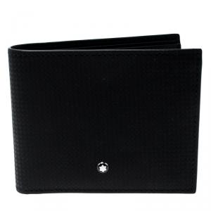 Montblanc Black Leather Westside Extreme 8CC Bifold Wallet