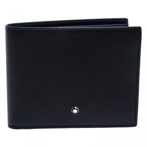Montblanc Black Leather Sartorial Wallet 6CC