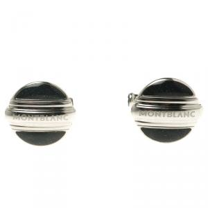 Montblanc Bicolor Lacquer Reversible Stainless Steel Heritage Cufflinks
