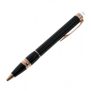 Montblanc Star Walker Rose Gold/Black Resin Ballpoint Pen