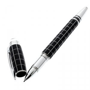 Montblanc Black Starwalker Rubber Resin Silver Tone Fineliner Pen