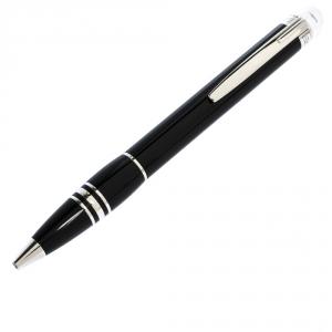 Montblanc StarWalker Black Resin Silver Tone Ballpoint Pen
