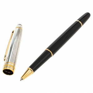 Montblanc Meisterstuck Solitaire Doue Black Resin Rollerball Pen