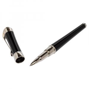 Montblanc Etoile Diamond Black Resin Platinum Finish Rollerball Pen